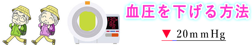 下げる 血圧 ためして ガッテン 方法 を